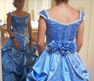 Battle of Flowers Parade Gown